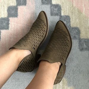 Steve Madden Ankle Brown Bootie